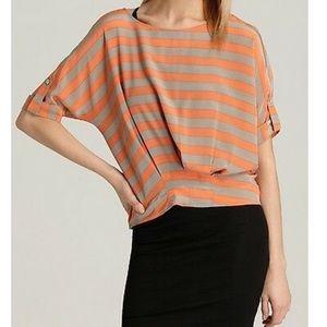 👚 BCBGMaxAzria 'Jayne' silk striped blouse